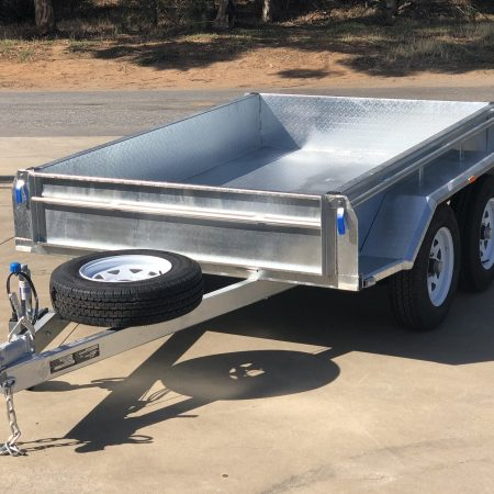 Galvanized Trailers & Cage Options