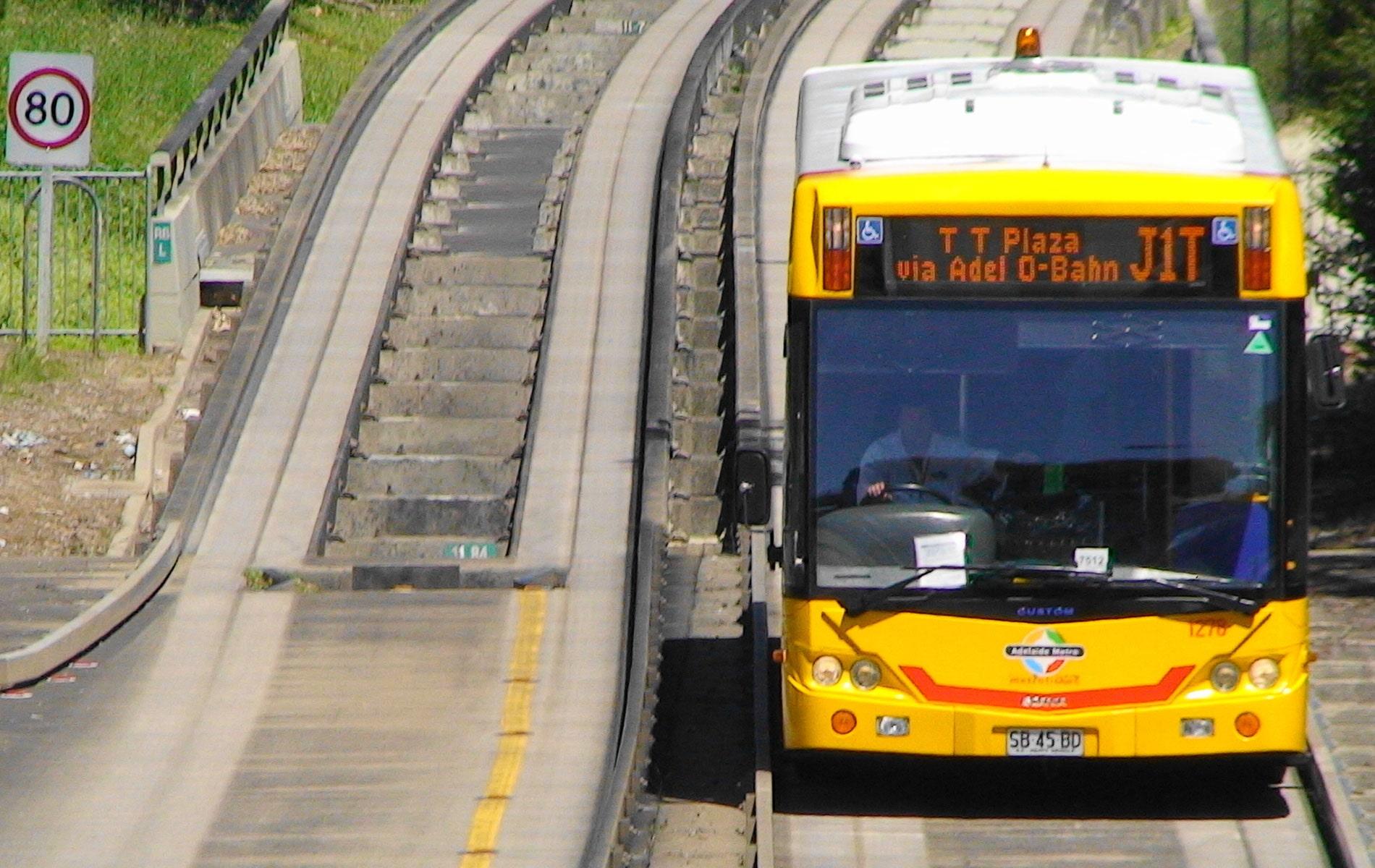 North Eastern Suburbs Adelaide   O-Bahn TTP